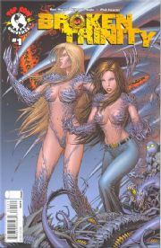 Broken Trinity #1 Cover B Ross (2008) Witchblade Darkness Top Cow comic book